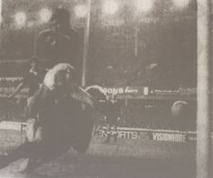 2 November 1974 Gary Jones knocks in Everton's second goal in a victory over Manchester City