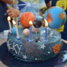 provocative-planet-pics-please.tumblr.com Happy birthday to my #little #scientist! #cake #planets #sun #astronaut #spaceship #nasa #space #stars #blue #love #homemade #handmade #edible #food #sweets #birthday #celebration #boys #fondant #vanilla #chocolate #dubai #uae by rosesdelights8 https://instagram.com/p/-WqyJeLLkc/