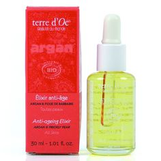terre d'Oc natural and organic skin care - Morocco anti-ageing - all skins - anti-ageing elixir