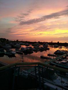 Sunset lntercity yacht club  cleveland ohio