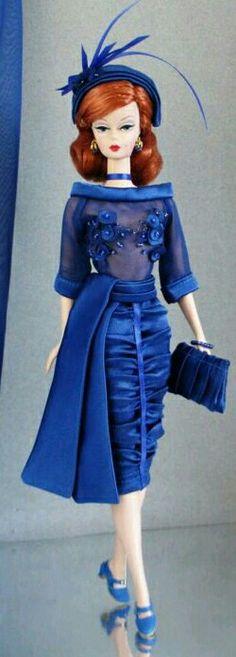 Silksyone BArbie in Blue