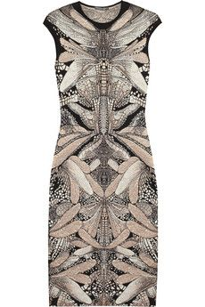 The dragonfly is Sarah Burton's motif of choice for Alexander McQueen's CR13 collection.