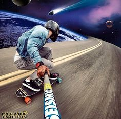 Spaceedits, longboards, skateboards, skating, skate, skateboarding, sk8, carve, carving, cruising, bomb hills not countries, hills, roads, pavement, #longboarding #skating