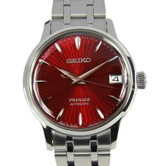 Buying The Right Type Of Mens Watches - Best Fashion Tips Stainless Steel Bracelet, Stainless Steel Case, Seiko Presage, Seiko Automatic, Amazing Watches, Chronograph, Seiko Watches, Lady, Michael Kors Watch