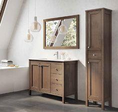 @lazienki_inspiracje Meble łazienkowe z litego drewna Elita Santos Oak. -------------------- #elita #projektantwnetrz #meble #bathrom #instagood #meblelazienkowe #umywalka #sinkbath #przebudowadomu #projektowaniewnetrz #inspiracjelazienkowe #modernbathroom #dekorowaniewnetrz #projektantwnetrz Double Vanity, Bathroom, Products, Saints, Washroom, Full Bath, Bath, Bathrooms, Gadget