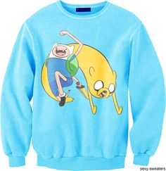 HECK YES Adventure Time Sweater