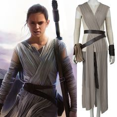 2016 star wars costume adult the force awakens Rey cosplay Carnival party costume Star wars Rey costume custom made-in Clothing from Novelty & Special Use on Aliexpress.com | Alibaba Group