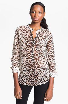 Equipment 'Ava' Silk Shirt available at #Nordstrom