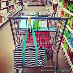 Thirty One key fob saves the day! Make room for groceries! Or carabiner?
