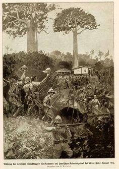 German East African troops