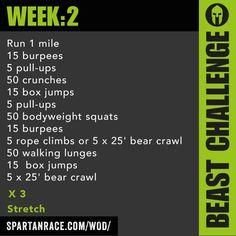 Beast Mode Challenge: 1.2 - SPARTAN RACE™ Blog