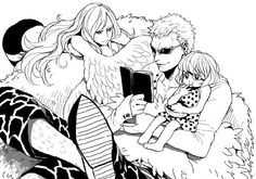 Donquixote Doflamingo and Monet