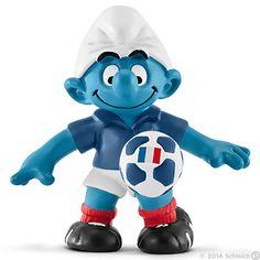 Footballer Smurf France