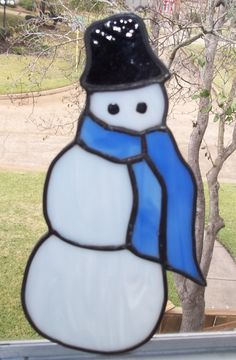 Actually my son made this snowman!