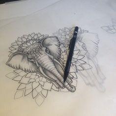 191 Best Tattoo Images Elephant Tattoo Design Elephant Tattoos