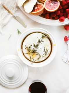 HONEY & ROSEMARY BAKED BRIE - LAUREN KELP