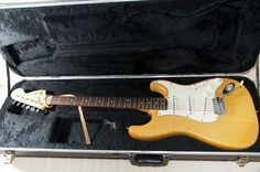 Fender Stratocaster '70ies natural rw/ash