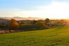 #autumn #october #sunset #Slovakia #nature
