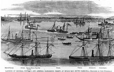 Naval Blockades of Southern Ports - This strategy was one of the Union's most effective during the Civil War, and their first target was South Carolina. In November 1861, the Union landed at Port Royal, captured Beaufort, and several islands. This was their base of operations for the blockade to stop shipping off the east coast of the Confederacy. They stopped all shipping for the rest of the war. They patrolled the coast, stopping shipments of goods in and out of the South.