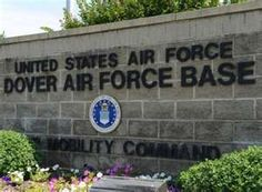 Obama arrived at Dover Air Force Base to preside as the remains of U.S. forces were carried off a military
