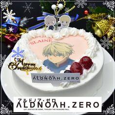 Slaine cake! Aldnoah.Zero Birthday Cake, Desserts, Zero, Food, Anime, Tailgate Desserts, Deserts, Birthday Cakes, Essen