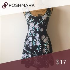 Aeropostale Fit & Flare Dress This dress is very stretchy to accommodate any curves!       95% Cotton & 5% Spandex Aeropostale Dresses Midi