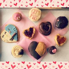 A wonderful variety of our Valentine's Treats!