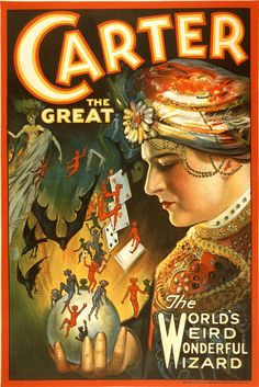 Stylish Occult Posters Promoting Magicians From 1900s | So Bad So Good
