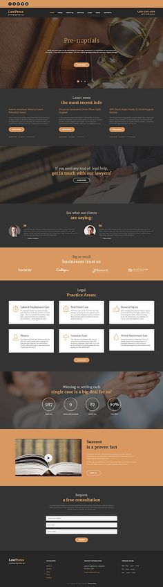 Lawyers & Legal Help Site #Wordpress #template. #themes #business…
