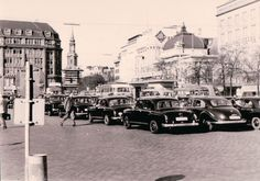 Anfang 1960er Hamburg - Hauptbahnhofvorplatz, Kirchenallee  ☺