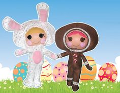 Pattern Lalaloopsy  Bunny Jumpsuit by QuirkyArtistLoft on Etsy, $3.99