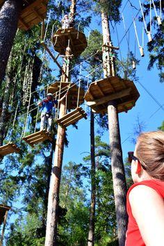 Huippu on seikkailua yläilmoissa. Meillä kaikki menee puihin!  Huippu is a tree top adventure course in Espoo Finland.  Huippu ist ein Hochseilgarten in Espoo Finnland. #seikkailupuisto #treetopadventure #hochseilgarten