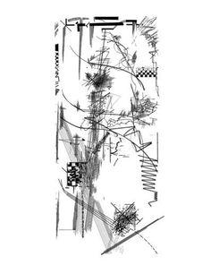 drawing by Daniel Libeskind