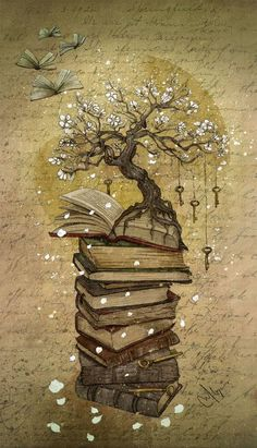 Books are the roots of knowledge ...