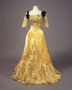 Evening Dress, Jean-Philippe Worth, 1900-1905.