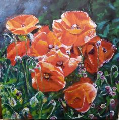 2018 Akryl na plátne, Plants, Plant, Planets
