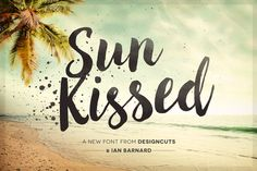 Sun Kissed   Bonus Brushography Pack by Design Cuts on @creativemarket