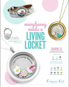 #OrigamiOwl The new 2015 Spring Collection is here!  #origamiowl #spring #heisrisen #easter