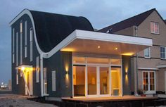 Villa voor Trompettist Almere NL | Arc2 architecten Mansions, House Styles, Outdoor Decor, Home Decor, Mansion Houses, Decoration Home, Manor Houses, Villas, Fancy Houses