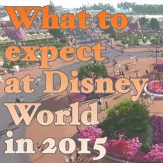 Do you know what is going to be NEW or different at Disney World in 2015? Find out here!