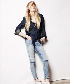 The 3 New Labels Doing Denim Right  #refinery29  http://www.refinery29.com/best-jeans