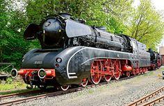 German Steam Locomotive, No. 10 001. by David A. L. Davies