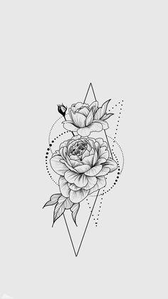 Inspirational Tattoos, Tattoos, Floral Tattoo Sleeve, Cute Tattoos, Flower Tattoo Designs, Sleeve Tattoos, Beautiful Tattoos, Tattoo Design Drawings, Tattoo Designs