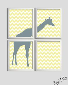 I just so happen to have a friend due in October who is thinking giraffe-theme for her nursery!