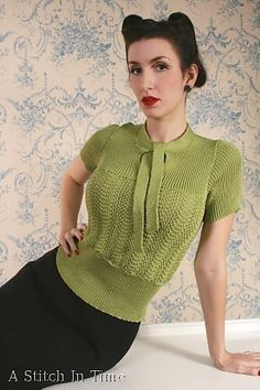 """Now this is why I took on knitting and I'm not giving up!  These are just some of the knitting patterns on the gorgeous book """"A Stitch in Ti..."""