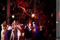 JOCELYN + ALEJANDRO • Destination Wedding at Xcaret • Riviera Maya » / / / Zasil Wedding Photoblog lanterns