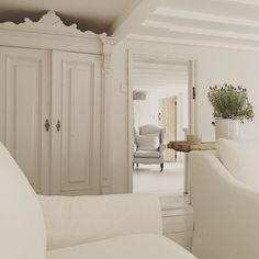 ...All white cottage feel