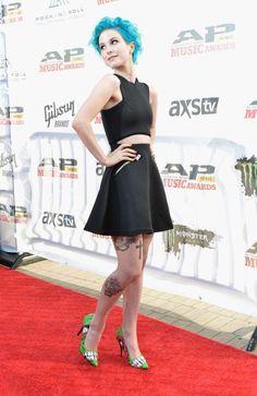 Hayley Williams: 2014 AP Music Awards