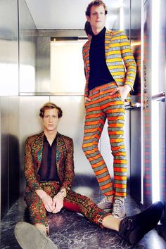 african men style | African print suits are really huge statement pieces. It takes a man of ...