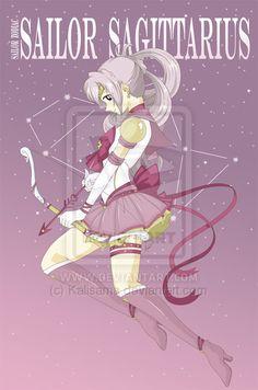 Sailor Zodiac Sagittarius by *Kalisama on deviantART